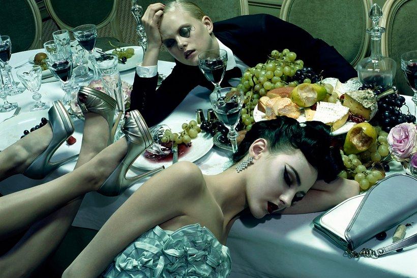 Dinner Party #3, 2009, Chromogenic Print