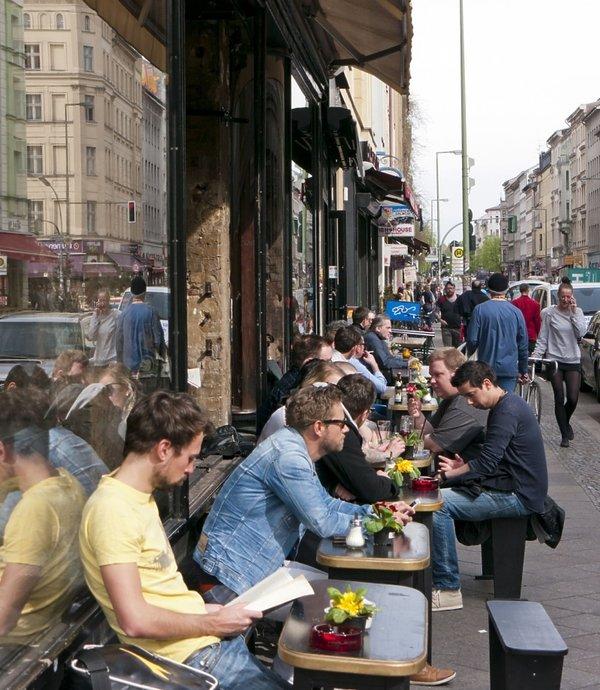 kawiarnie w Berlinie, 2014