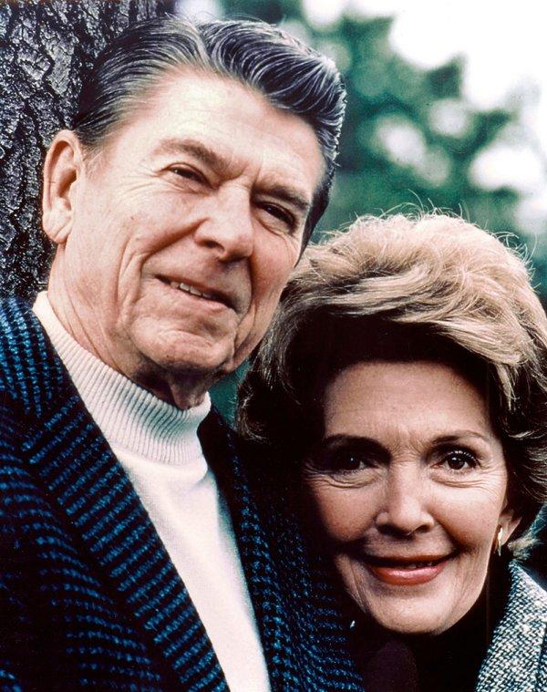 Nancy i Ronald Reagan