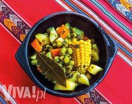Wiosenna zupa   z groszkiem i kukurydzą, Kuchnia z Beatą Pawlikowską