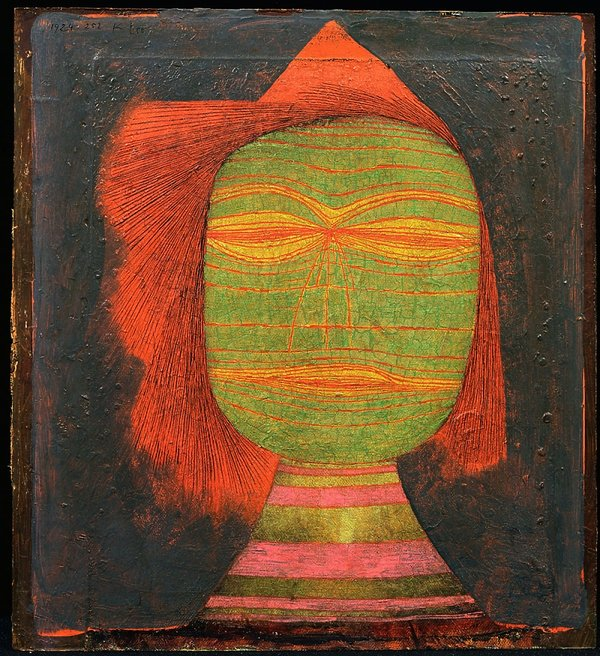 Paul Klee Maska komedianta 1924