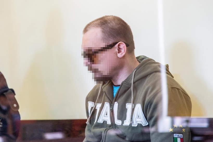 07.05.2019, Wroclaw, początek procesu Ireneusza M. i Norberta B., Miloszyce, Ireneusz M.