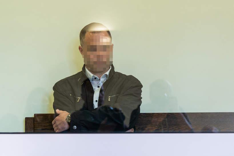 07.05.2019, Wrocław, początek procesu Ireneusza M. i Norberta B., zbrodnia w Miłoszycach, Norbert B.