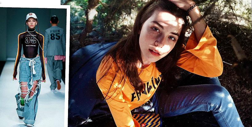 14-letnia modelka