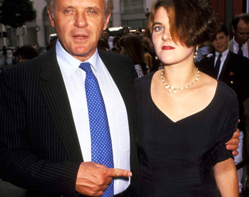 Abigail Hopkins, córka Anthony'ego Hopkinsa,  Anthony Hopkins, 06.10.1991 rok