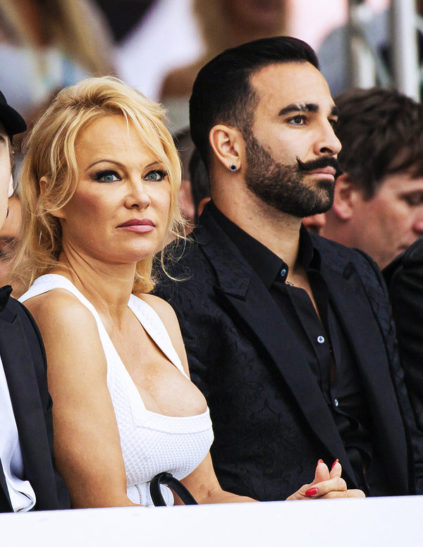 Adil Rami, Pamela Anderson, 24 maja 2019