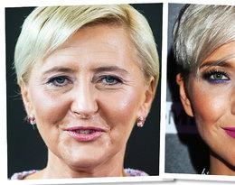 Internauci przyrównują Magdę Steczkowską do Agaty Dudy! Czy panie faktycznie wyglądają jak bliźniaczki? Te sześć zdjęć jest na to najlepszym dowodem!