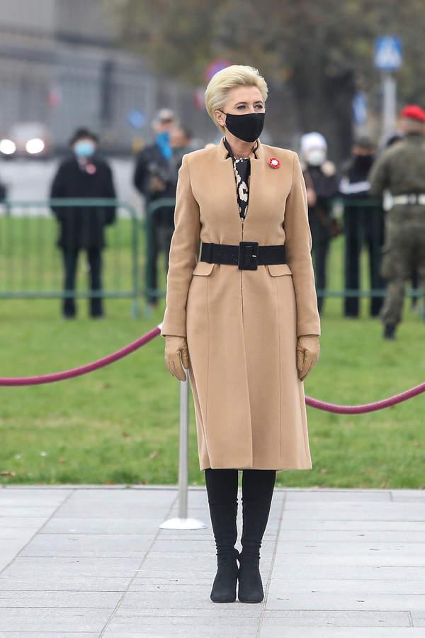 Agata Duda, Święto Niepodległości, 11.11.2020
