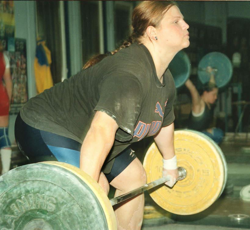 Agata Wróbel podczas treningu, 20.11.1998