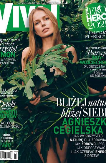 Agnieszka Cegielska, Viva kwiecień 2021, NAKLEJKA EKO
