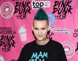 Agnieszka Chylińska promuje nową płytę Pink Punk