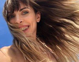 Agnieszka Dygant, wakacje Agnieszki Dygant, Agnieszka Dygant w bikini