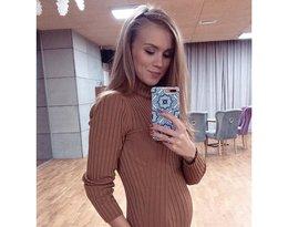 Agnieszka Kaczorowska zamieściła ciążowe krągłości