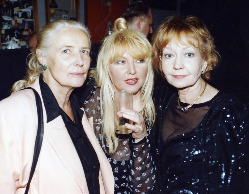 Agnieszka Osiecka, Maryla Rodowicza, Elżbieta Czyżewska, 50. urodziny Daniela Olbrychskiego, 30.11.1995 rok