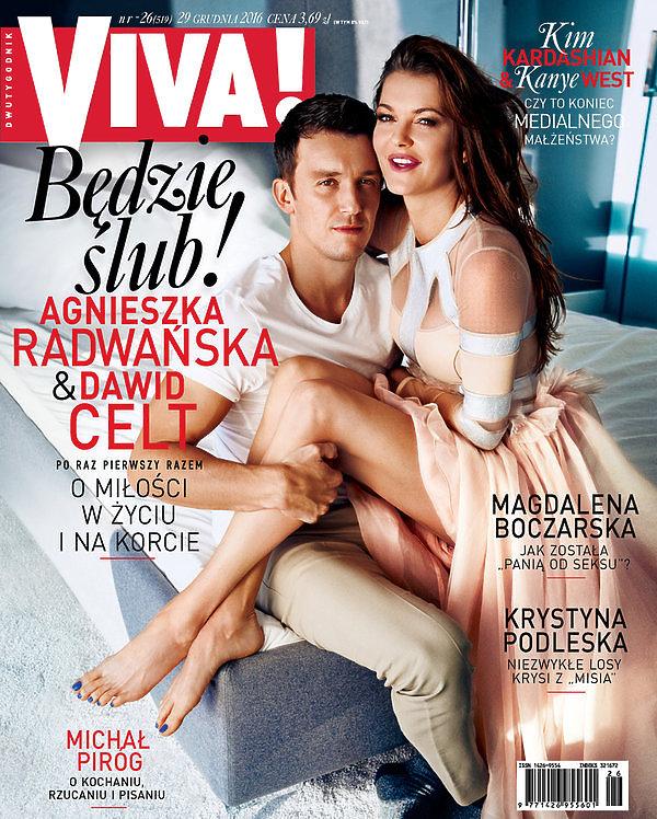 Agnieszka Radwańska, Viva! grudzień 2016
