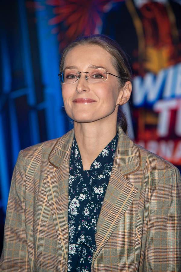 Agnieszka Sitek, aktorka, Warszawa, 08.01.2020, Wielki Test TVP o karnawale
