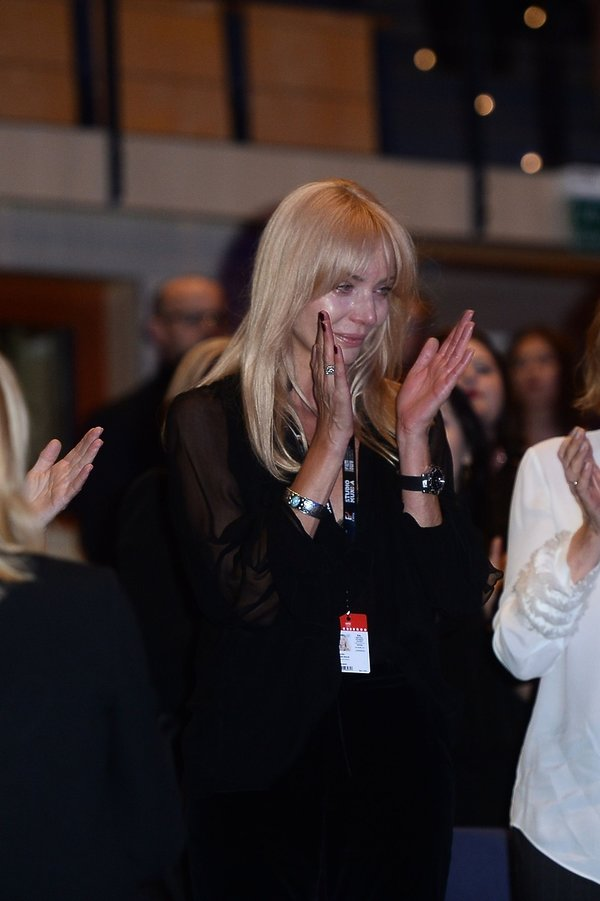 Agnieszka Woźniak-Starak na festiwalu w Gdyni, 20 września 2019