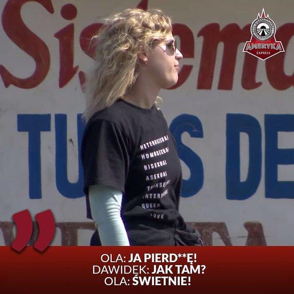 Aleksandra Domańska, zwyciężczyni Ameryka Express. Kim jest, co robi, najlepsze teksty z programu