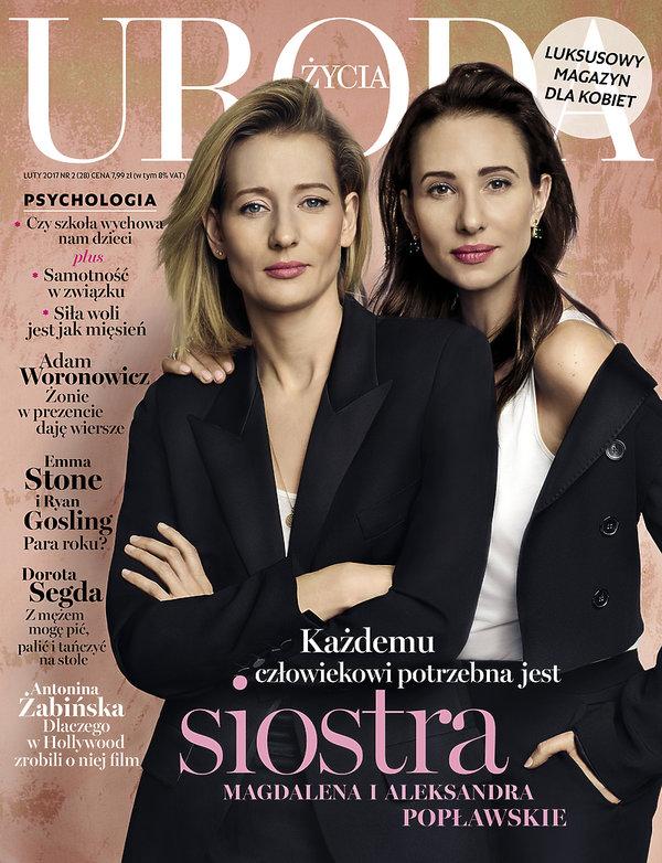 Aleksandra i Magdalena Popławskie, Uroda Życia, luty 2017