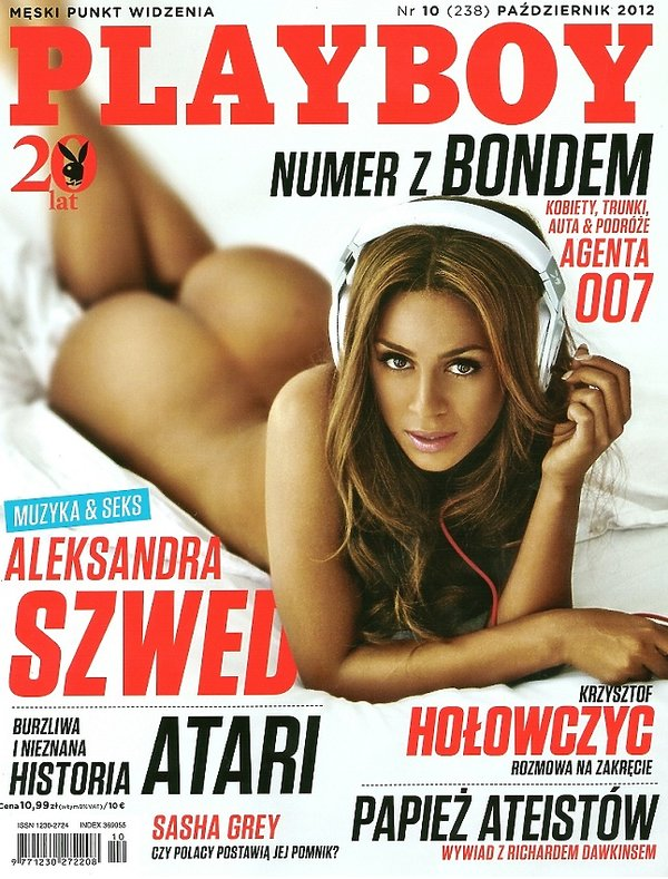 Aleksandra Szwed, Playboy