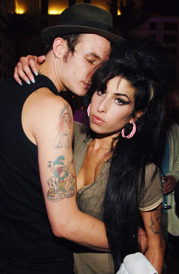 Amy Winehouse, Blake Fielder-Civil, Londyn, 02.06.2007 rok