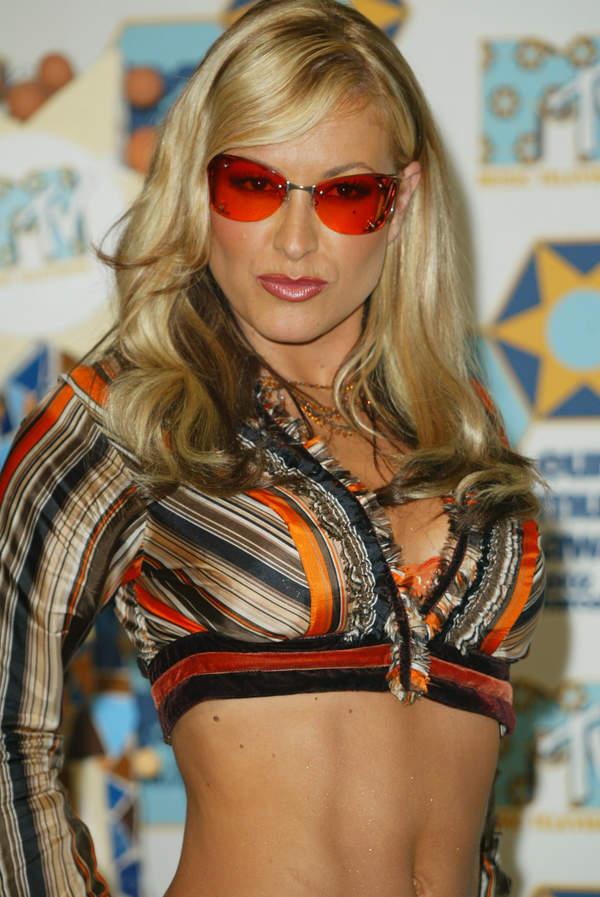 Anastacia, MTV European Music Awards, Barcelona, Hiszpania, 14.11.2002 rok