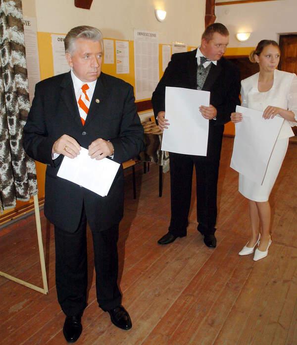 Andrzej Lepper, Tomasz Lepper, żona Tomasza Leppera, 50-te urodziny polityka, wybory do parlamentu europejskiego, 13.06.2007
