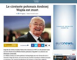 Andrzej Wajda, reakcje zachodu