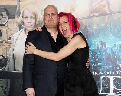 """Andy Wachowski i Lana Wachowski na premierze """"Atlasu chmur"""" w Los Angeles, 24 października 2012 roku"""