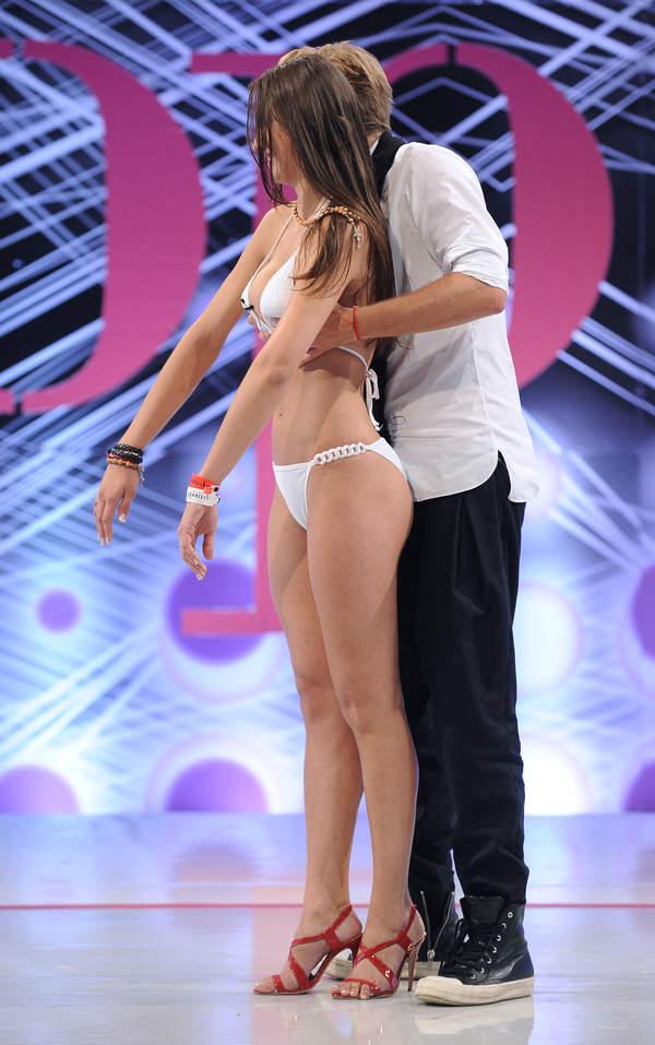 Angelika Fajcht, Dawid Woliński, Top model