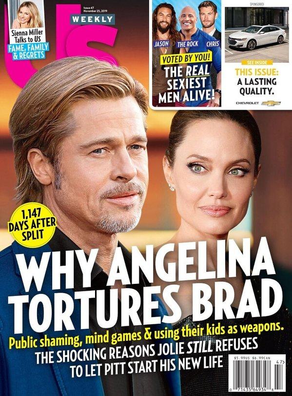 Angelina Jolie, Brad Pitt, Us weekly
