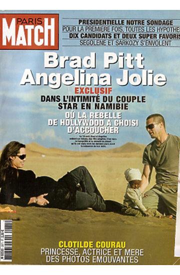 Angelina Jolie i Brad Pitt na okładkach