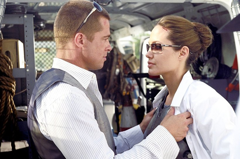 Angelina Jolie i Brad Pitt w