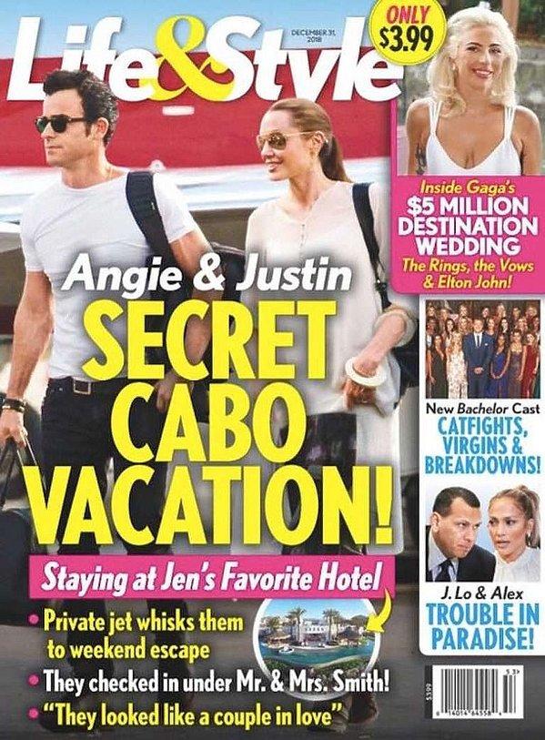 Angelina Jolie i Justin Theroux mająromans? Sensacyjne zdjęcie w Life&Style