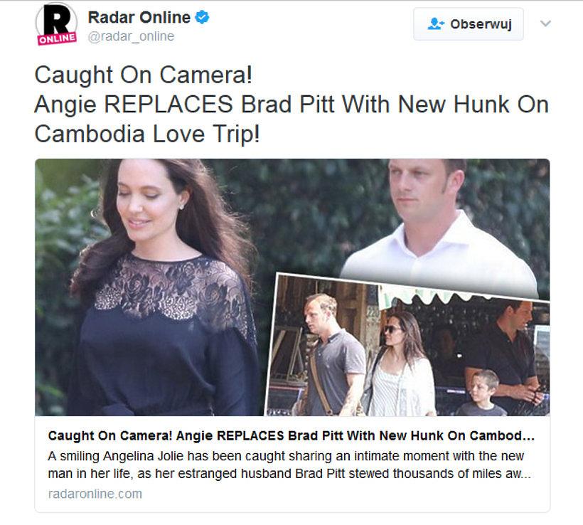 Angelina Jolie, nowy związek