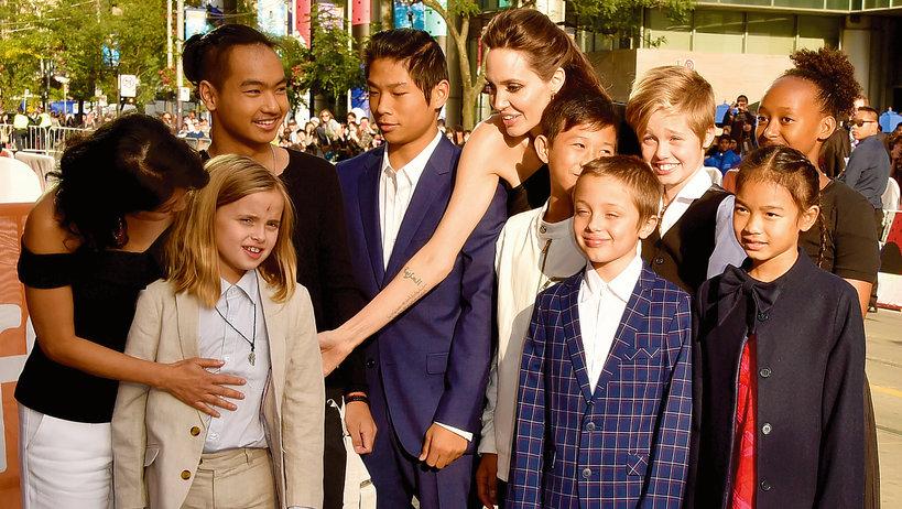 Angelina Jolie straci prawo opieki nad dziećmi przed Brada Pitta?