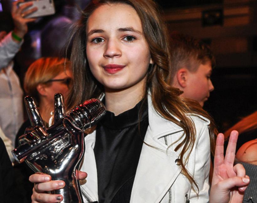 Ania Dąbrowska, zwyciężczyni The Voice of Poland II