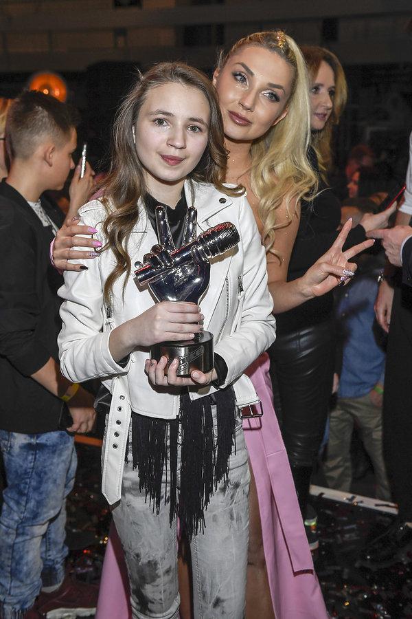 Ania Dąbrowska, zwyciężczyni The Voice of Poland II z Cleo