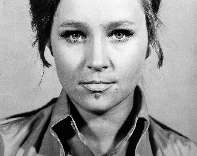 Anita Dymszówna, aktorka, lata 70. XX wieku
