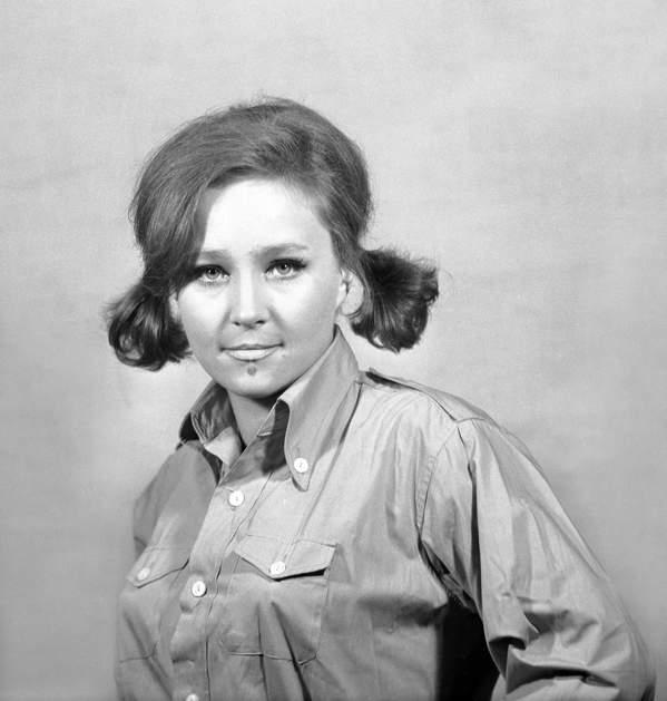 Anita Dymszówna, aktorka, październik 1970 roku