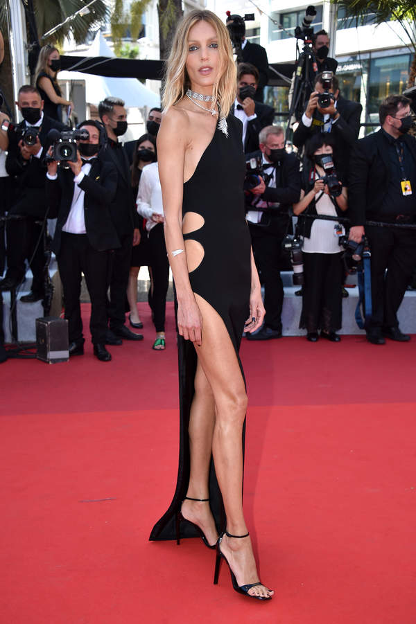 Anja Rubik, 74. festiwal w Cannes, 09.07.2021 rok