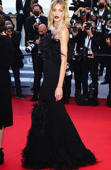 Anja Rubik, 74. festiwal w Cannes, 10.07.2021 rok