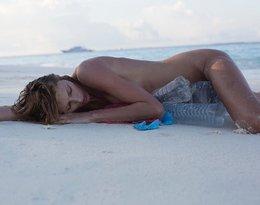 Anja Rubik nago, Anja Rubik walczy o ochronę środowiska i z zaśmiecaniem mórz i oceanów