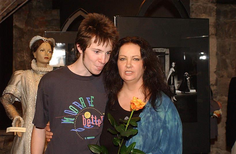 Anna Dymna, Michał Dymny, 27.03.2003, Kraków