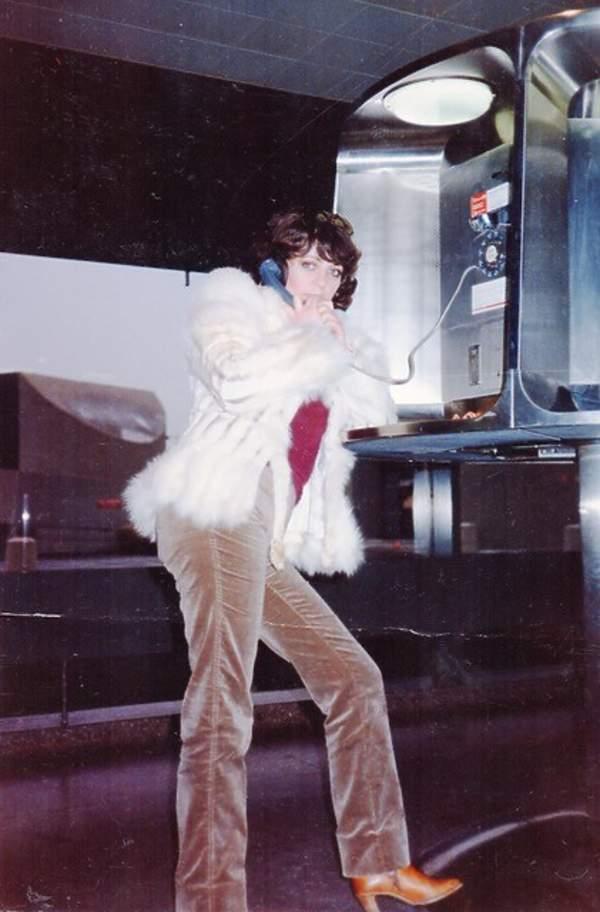 Anna Jantar w USA, przed wylotem do Polski, marzec 1980