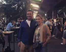 Anna Kalczyńska z mężem Maciejem Maciejowskim