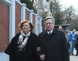 Anna Komorowska, Bronisław Komorowski, pogrzeb Wojciecha Młynarskiego, Wojciech Młynarski