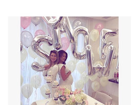 Anna Lewandowska, Baby Shower