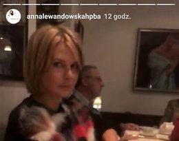 Anna Lewandowska, Cezary Pazura, Robert Lewandowski, Edyta Pazura