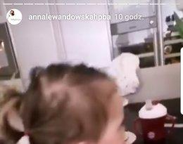 Anna Lewandowska pokazała twarz Klary Lewandowskiej